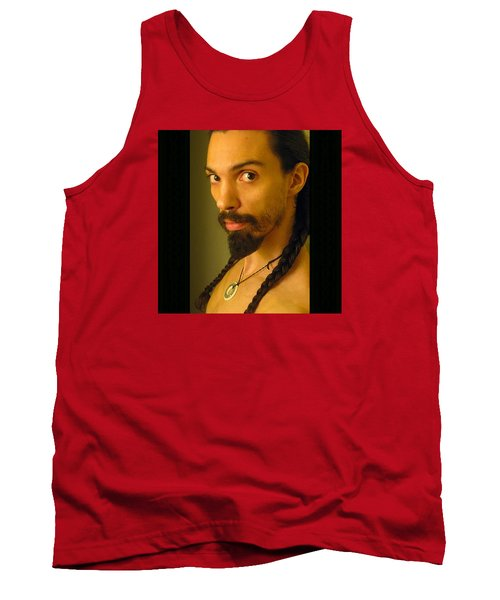 Self Portrait The Native Within Me Tank Top