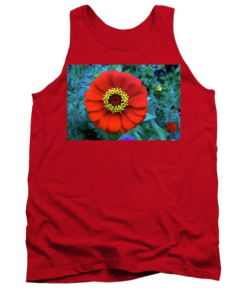 September Red Beauty Tank Top