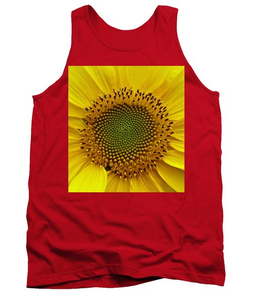 Tank Top featuring the photograph September Sunflower by Richard Cummings