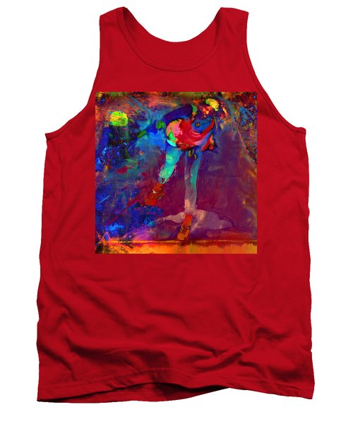 Serena Williams Return Explosion Tank Top by Brian Reaves