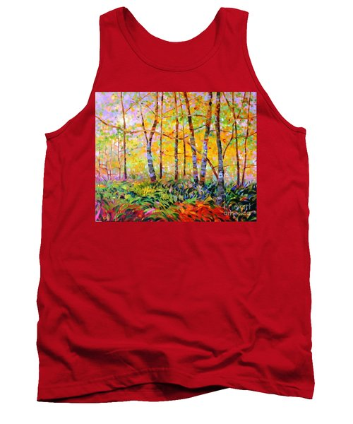 Serenade Of Forest Tank Top