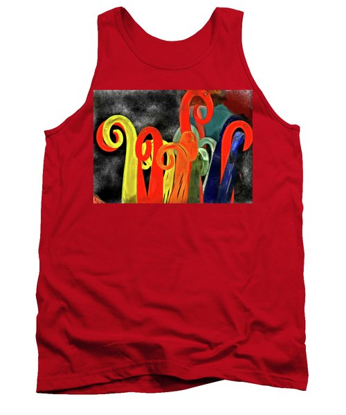 Seuss' Canes Tank Top by Trish Tritz