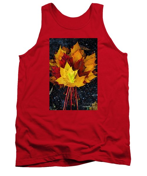 Tank Top featuring the photograph Shade Of Autumn  by Gary Bridger