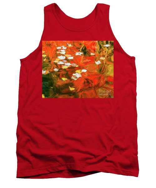 Shadow Of The Red Dragon Tank Top