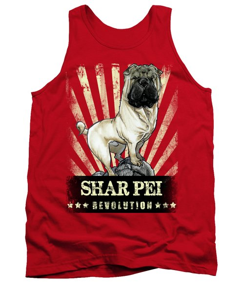 Shar Pei Revolution Tank Top