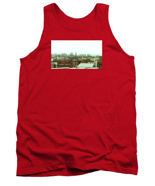 Tank Top featuring the photograph Sheffield Skyline by Anne Kotan