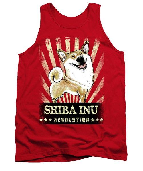 Shiba Inu Revolution Tank Top