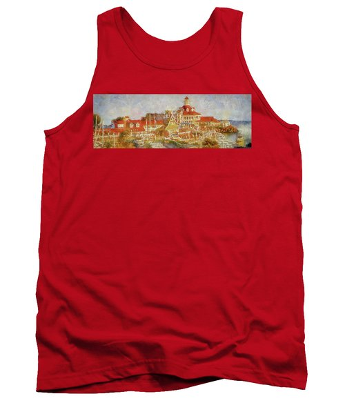 Shoreline Village Tank Top by Joseph Hollingsworth