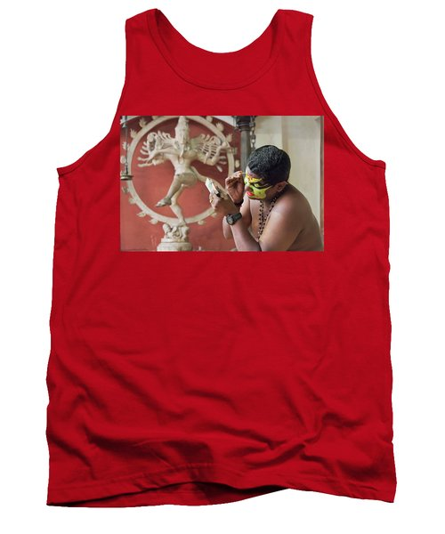 Tank Top featuring the photograph Showtime by Marion Galt