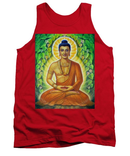 Tank Top featuring the painting Siddhartha by Sue Halstenberg