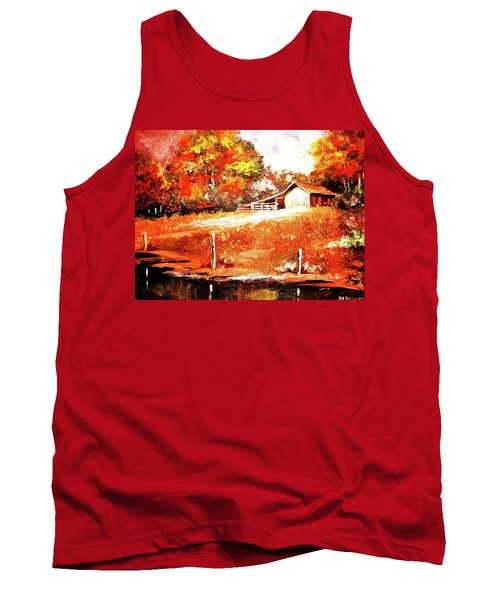 Signs Of Autumn Tank Top