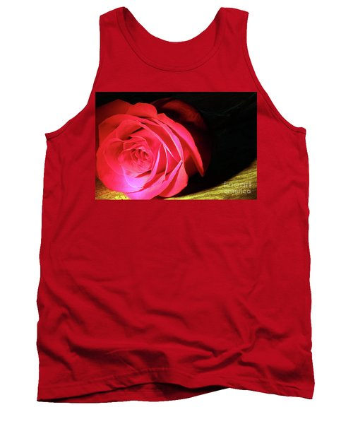 Single Rose  Tank Top