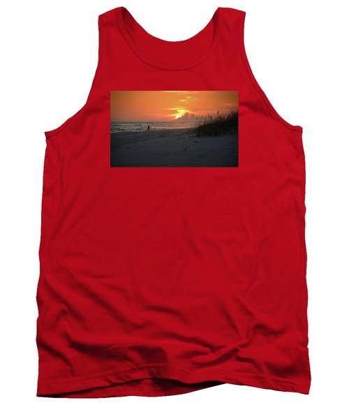 Tank Top featuring the photograph Sinking Into The Horizon by Renee Hardison