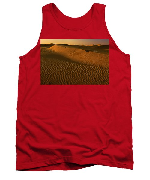 Skn 1127 The Golden Dunes Tank Top