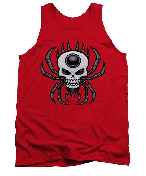 Skull Spider Tank Top