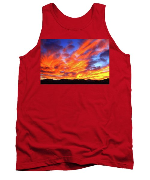 Sky On Fire #5 Tank Top