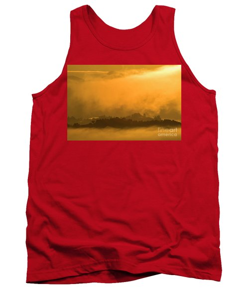 Tank Top featuring the photograph sland in the Mist - D009994 by Daniel Dempster