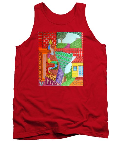 Slanted Tank Top