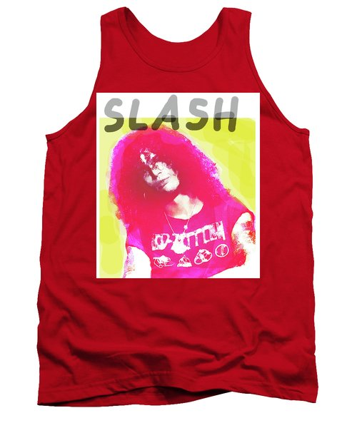 Slash Portrait  Tank Top