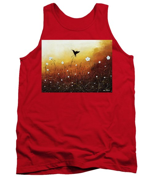 Tank Top featuring the painting Small Treasure by Carmen Guedez