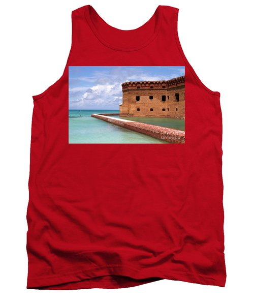 Snorkelers Fort Jefferson Tank Top