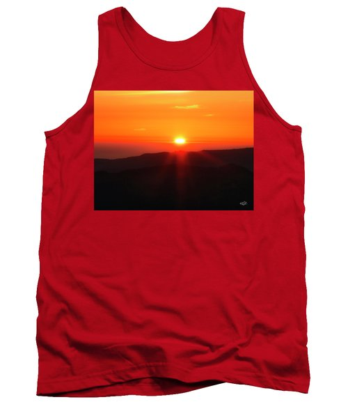 Snow Camp View 2 Tank Top by Leland D Howard