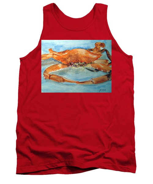 Snow Crab Is Ready Tank Top