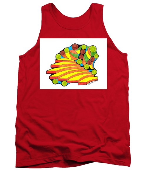 Snow Day 1 Tank Top by Paul Meinerth