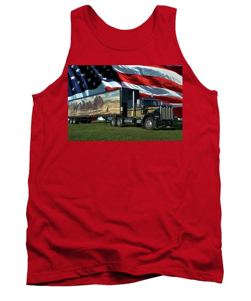 Snowmans Dream Semi Truck Tank Top