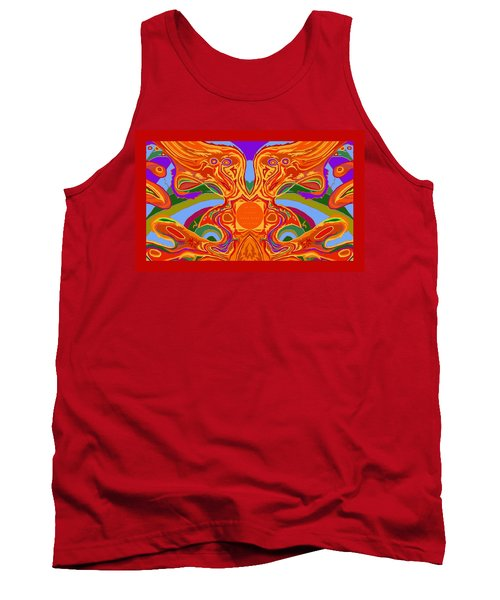 So Hot It Will Burn Your Face Off Art And Text Tank Top