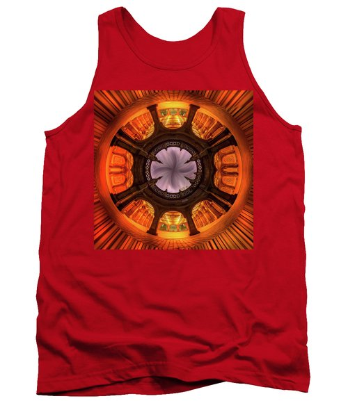 Tank Top featuring the photograph Solar Worship by Az Jackson