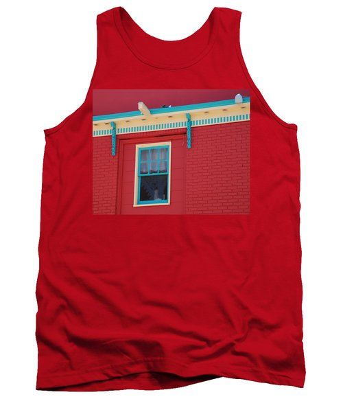 Tank Top featuring the photograph Solitary Window by Richard Bryce and Family