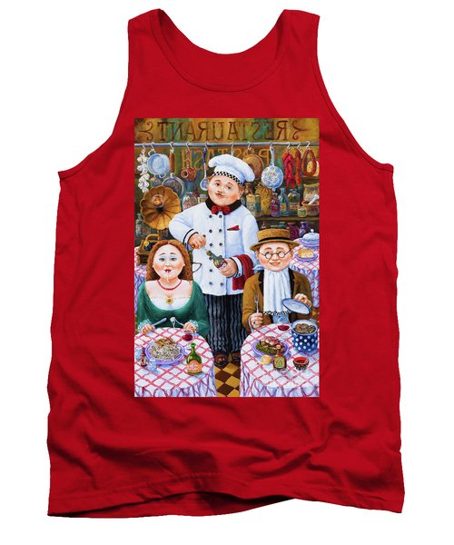 Something About Food 2 Tank Top