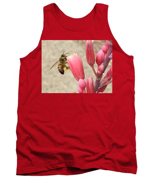 Something To Buzz About Tank Top by Russell Keating
