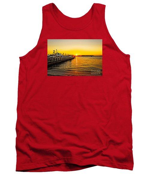 South Beach Sunset Tank Top