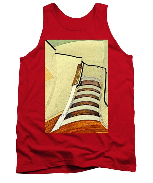 Space Geometry #1 Tank Top