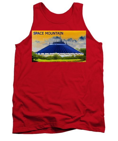Space Mountain Tank Top