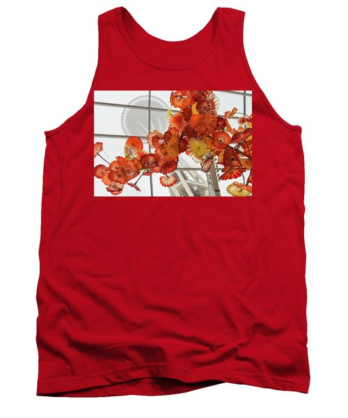Space Needle And Chihuly Tank Top