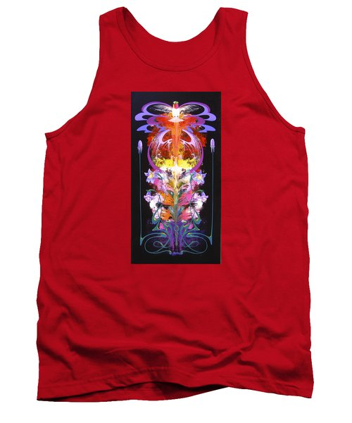 Spark Of Nature Tank Top by Alan Johnson