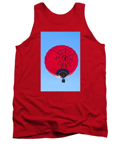 Tank Top featuring the photograph Spiderballoon by Brenda Pressnall