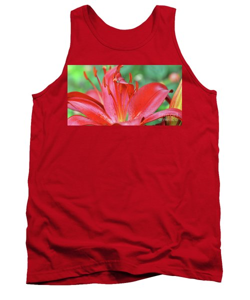 Spinning For Dinner Tank Top by Debby Pueschel