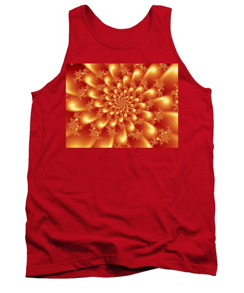 Spinning Gold Tank Top
