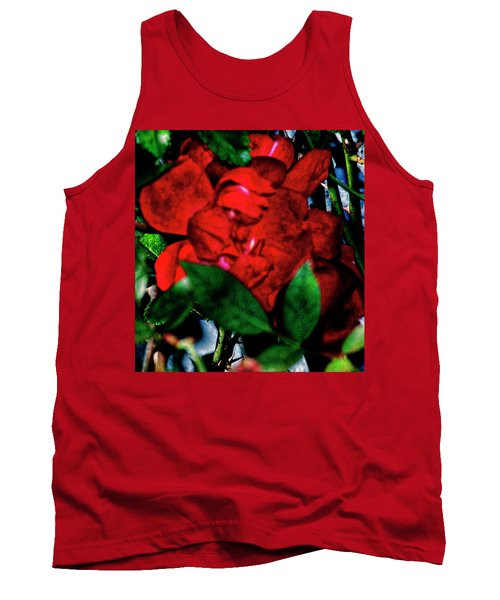 Spirit Of The Rose Tank Top by Gina O'Brien