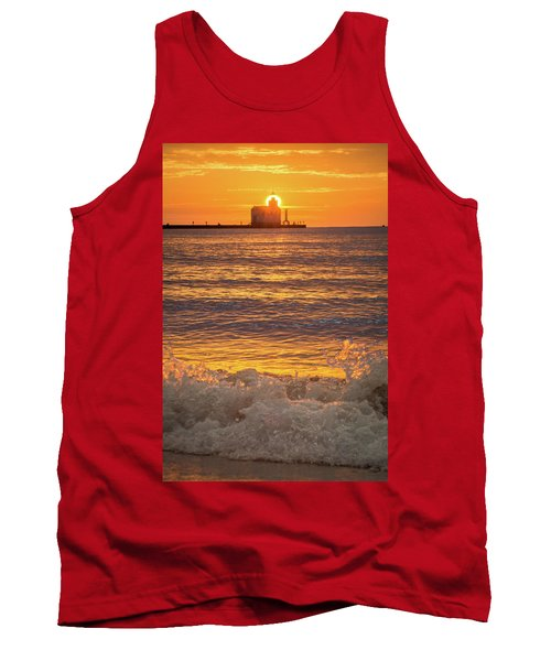 Tank Top featuring the photograph Splash Of Light by Bill Pevlor