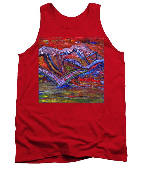 Tank Top featuring the painting Spread Your Wings by Vadim Levin
