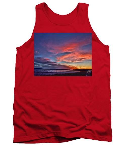 Spring Sunset Tank Top