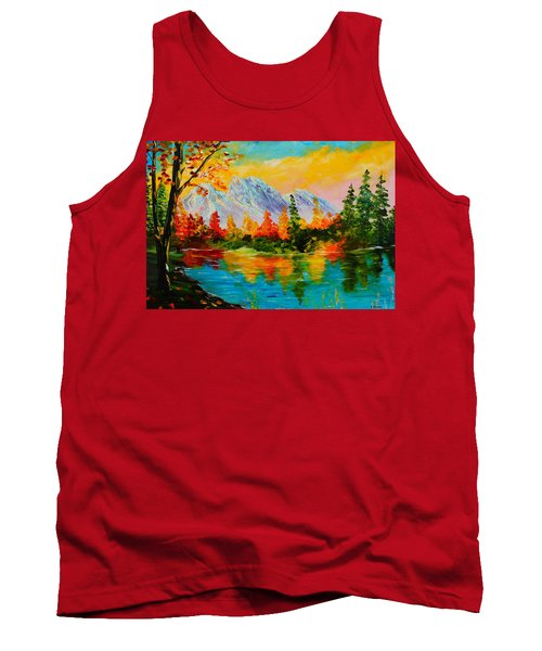 Springtime Reflections Tank Top