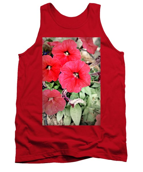 Sprung Spring Tank Top by Ally  White