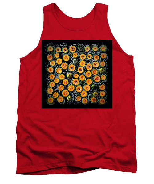 Squash And Zucchini Patters Tank Top