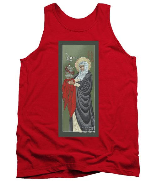 St Catherine Of Siena- Guardian Of The Papacy 288 Tank Top
